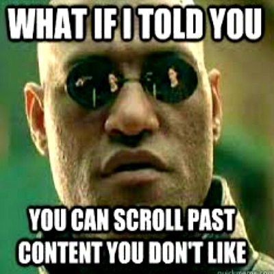 Scroll on By Featured Image