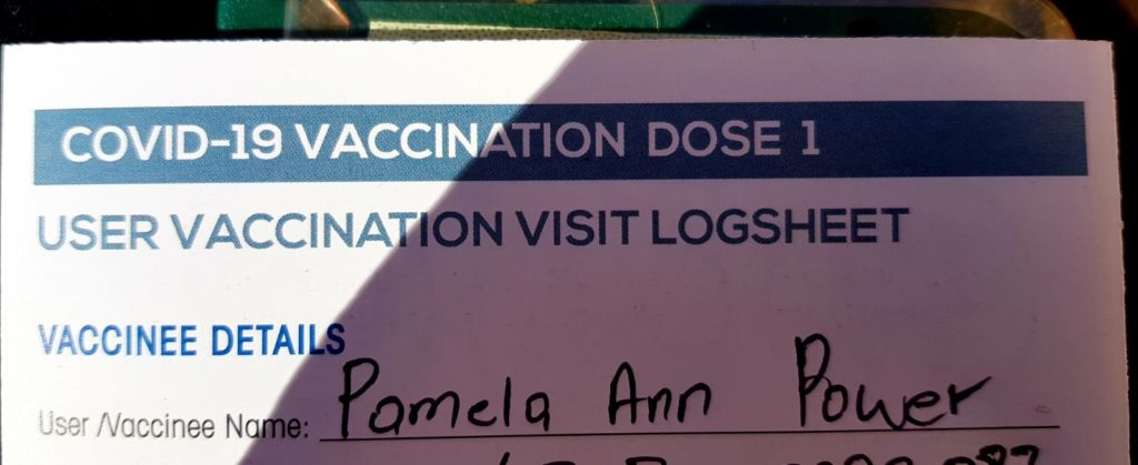 Jabbed Vaccination Logsheet