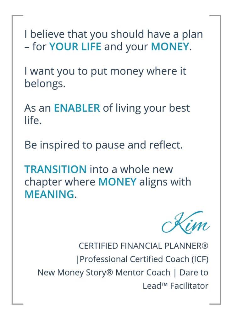 Kim Money Quote